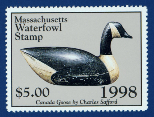 1998 Massachusetts Waterfowl Stamp (MA25)