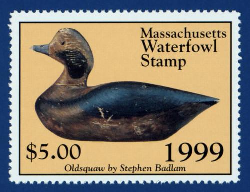 1999 Massachusetts Waterfowl Stamp (MA26)