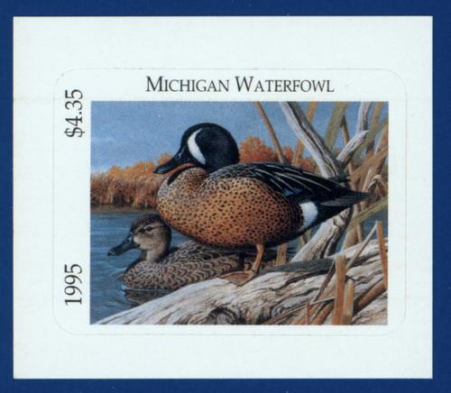 1995 Michigan Waterfowl Stamp (MI20)