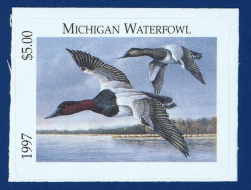 1997 Michigan Waterfowl Stamp (MI22)
