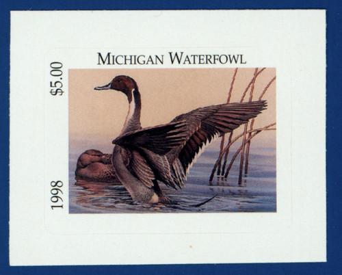 1998 Michigan Waterfowl Stamp (MI23)