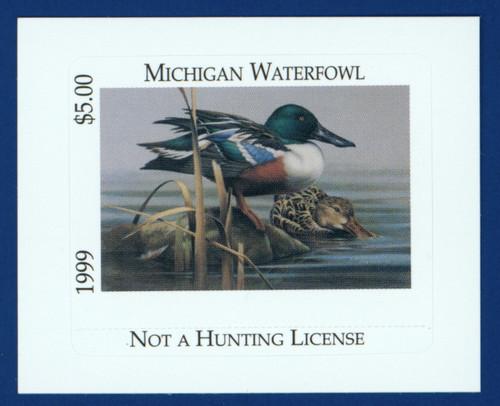 1999 Michigan Waterfowl Stamp (MI24)