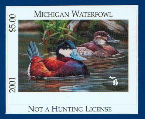 2001 Michigan Waterfowl Stamp (MI26)