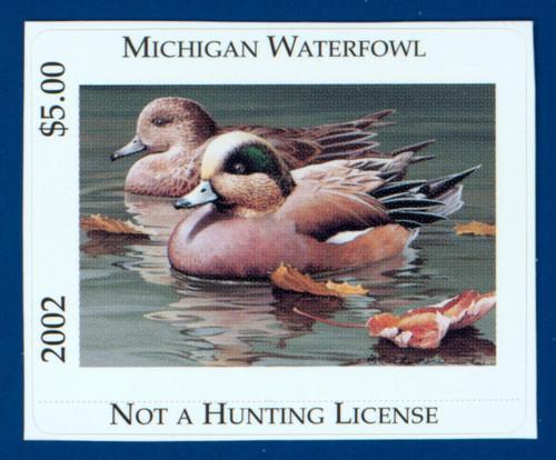 2002 Michigan Waterfowl Stamp (MI27)