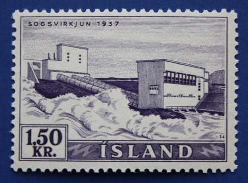 Iceland (292) 1956 Waterfalls - Sogs single
