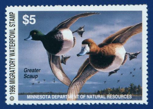 1996 Minnesota Migratory Waterfowl Stamp (MN20)