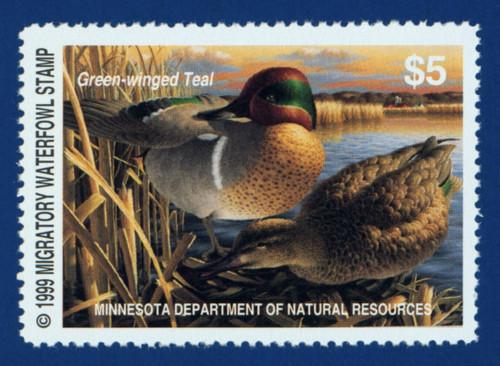 1999 Minnesota Migratory Waterfowl Stamp (MN23)