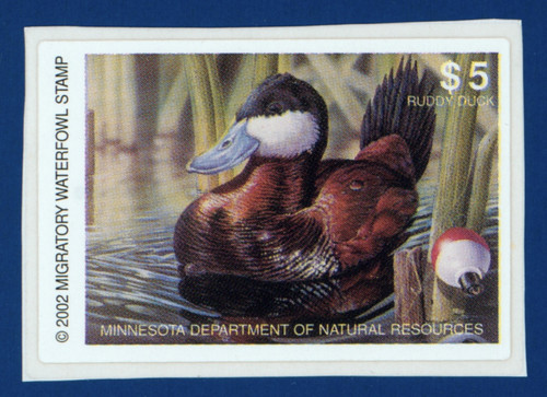 2002 Minnesota Migratory Waterfowl Stamp (MN26)