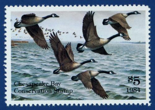 1986 Chesapeake Bay Conservation Stamp (CBIW01)