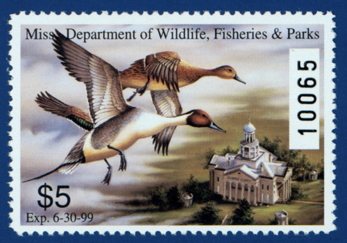 1998 Mississippi Waterfowl Stamp (MS23)