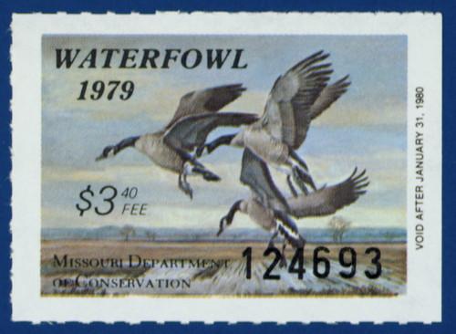 1979 Missouri Waterfowl Stamp (MO01)