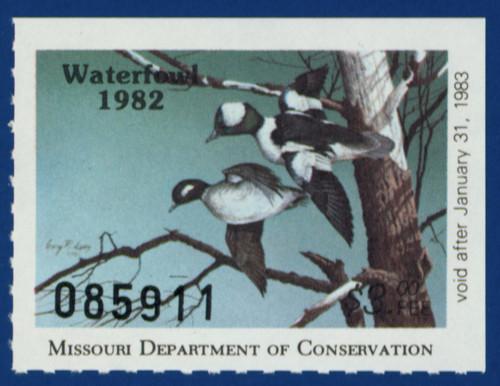 1982 Missouri Waterfowl Stamp (MO04)