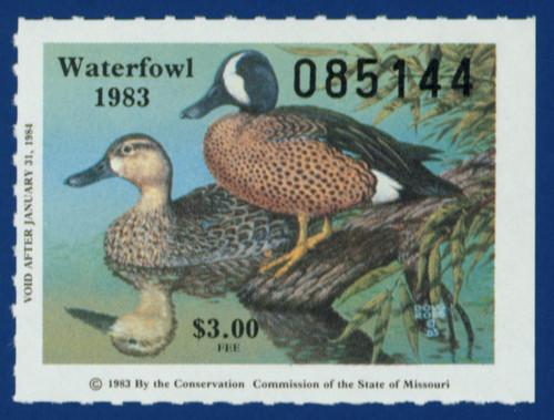 1983 Missouri Waterfowl Stamp (MO05)