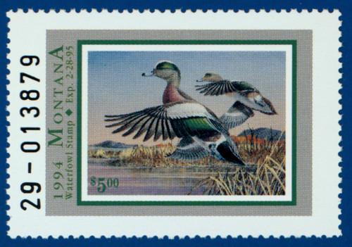 1994 Montana Waterfowl Stamp (MT09)