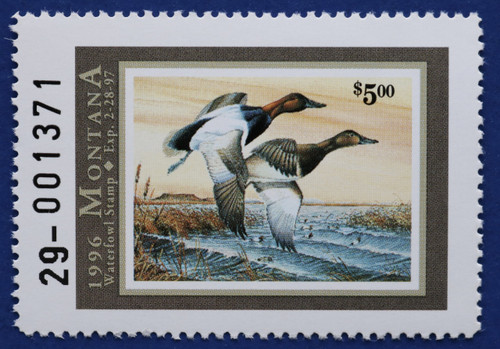 1996 Montana Waterfowl Stamp (MT11)