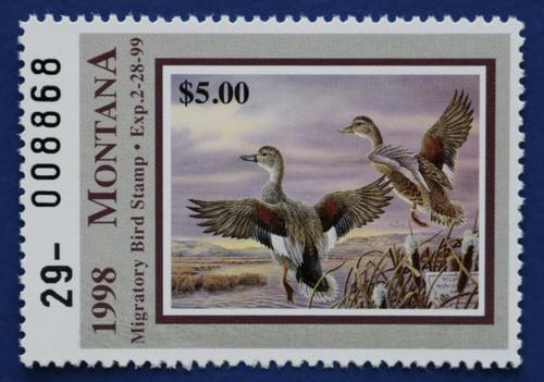 1998 Montana Migratory Bird Stamp (MT13)