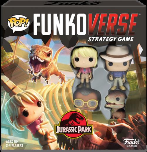 Funko POP! Funkoverse Strategy Game - Jurassic Base Set