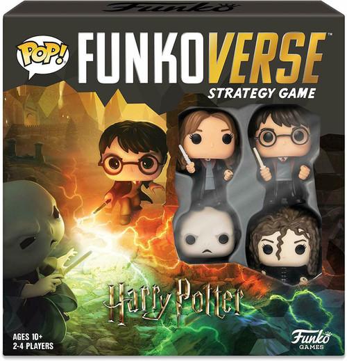 Funko POP! Funkoverse Strategy Game - Harry Potter Comics Base Set