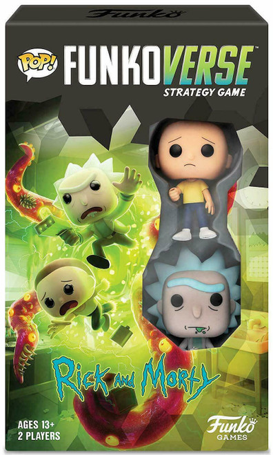 Funko POP! Funkoverse Strategy Game - Rick and Morty Expandalone