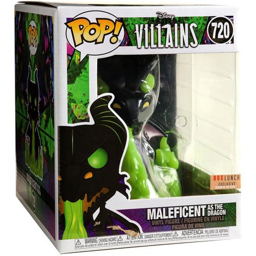 Pop! Disney Villains: Maleficient as the Dragon (#720) Box Lunch Exclusive