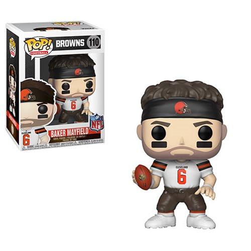 Funko Pop! Football: Cleveland Browns - Baker Mayfield (#110)