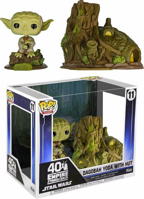 Pop! Town: Star Wars - Dagobah Yoda & Hut (11)