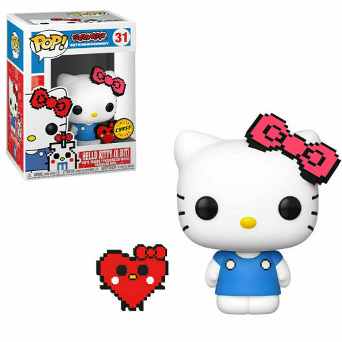 Pop! Sanrio: Hello Kitty - Hello Kitty (8 Bit) (#31) Limited CHASE Edition