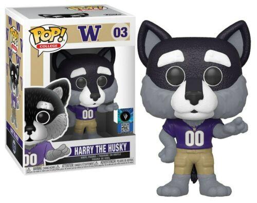 Funko Pop! College: University of Washington - Harry the Husky (#03)
