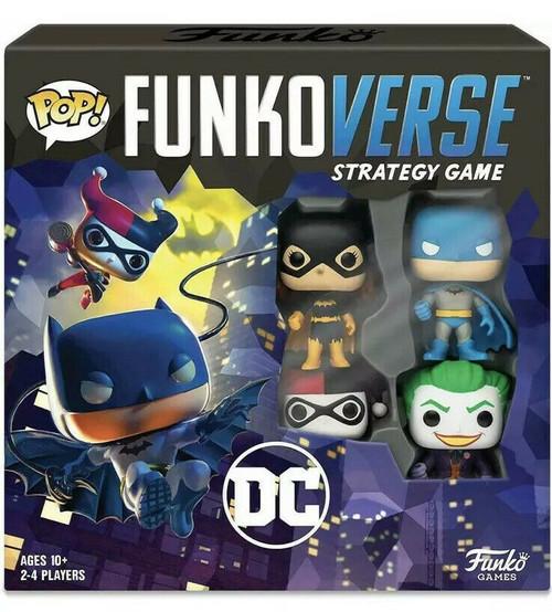 Funko POP! Funkoverse Strategy Game - DC Comics Base Set
