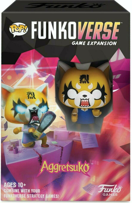 POP! Funkoverse Strategy Game - Aggretsuko 100 Expansion