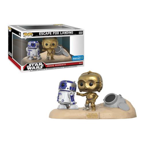 Funko Pop! Star Wars: A New Hope - Escape Pod Landing (#222) Walmart Exclusive