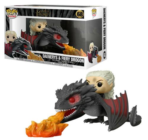 Funko Pop! Rides: Game of Thrones - Daenerys & Fiery Drogon (#68)