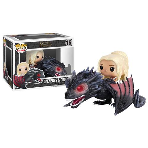 Funko Pop! Rides: Game of Thrones - Daenerys & Drogon (#15)