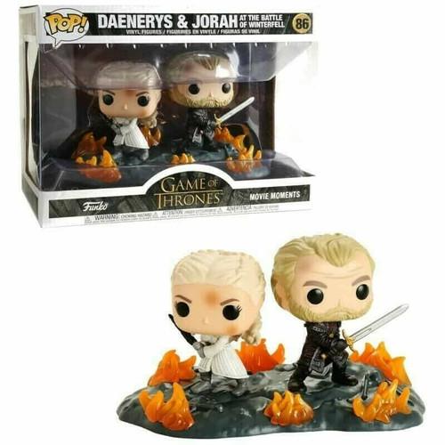 Funko Pop! Moment: Game of Thrones - Daenerys & Jorah at Battle of Winterfell (#86)