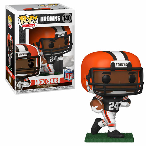 Funko Pop! NFL: Cleveland Browns - Nick Chubb (#140)