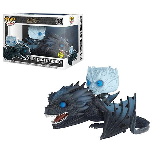Funko Pop! Rides: Game of Thrones - Night King & Icy Viserion (#58) (GITD)