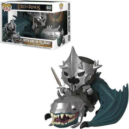 Funko Pop! Rides: The Lord of the Rings - Witch King on Fellbeast (#63)