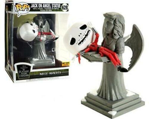 Pop! Disney: The Nightmare Before Christmas - Jack Skellington on Angel Statue (#628) Hot Topic Exclusive