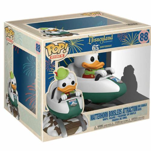 Funko Pop! Rides: Disneyland 65th -  Donald with Matterhorn (#88)