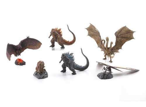 Art Series- Godzilla: King of the Monsters - Hyper Modeling Boxed Set of 6