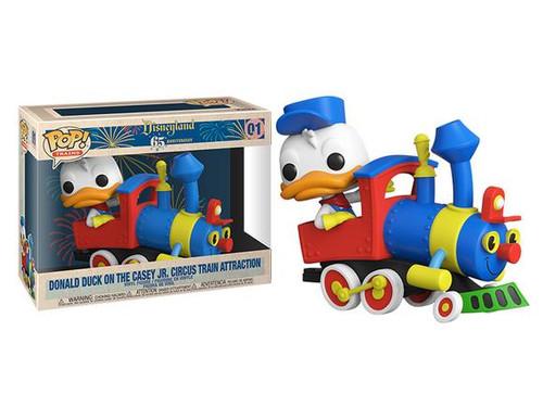 Funko Pop! Trains: Disneyland Casey Jr. Engine with Donald Duck (#01)