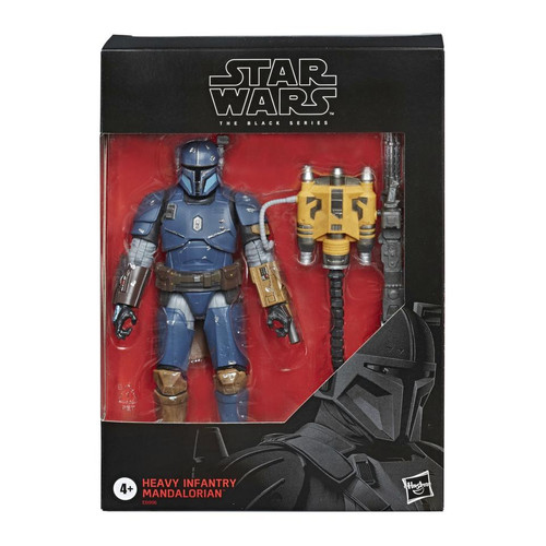 Hasbro - Star Wars The Black Series - Heavy Infantry Mandalorian 6-inch Action Figure