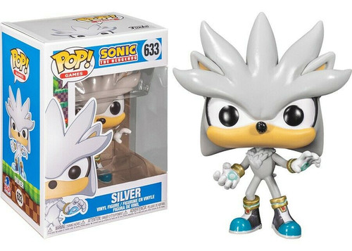 Funko Pop! Games: Sonic the Hedgehog - Silver (#633)