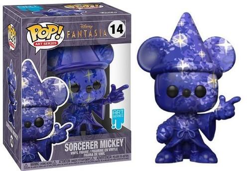 Funko Pop! Art Series - Disney: Fantasia 80th - Mickey #1 with Funko Premium Case (#14)