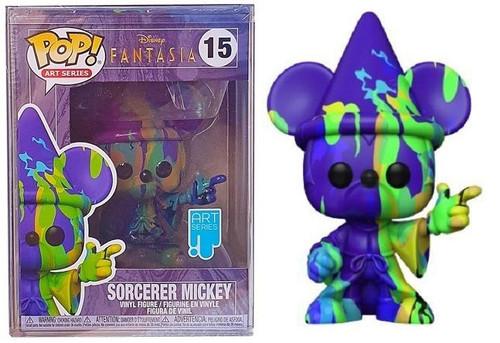 Funko Pop! Art Series - Disney: Fantasia 80th - Mickey #2 with Funko Premium Case (#15)