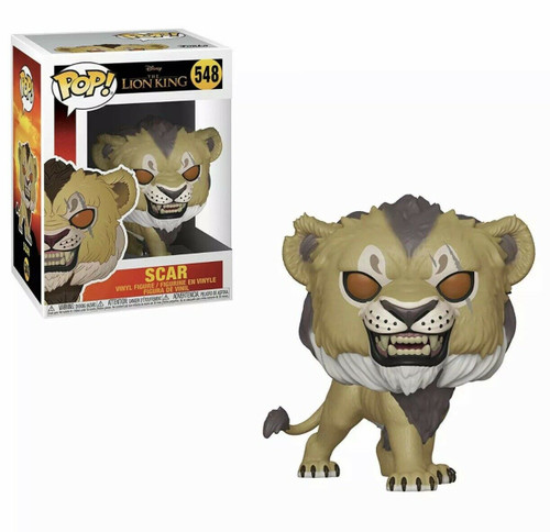 Funko Pop! Disney: The Lion King - Scar (#548)