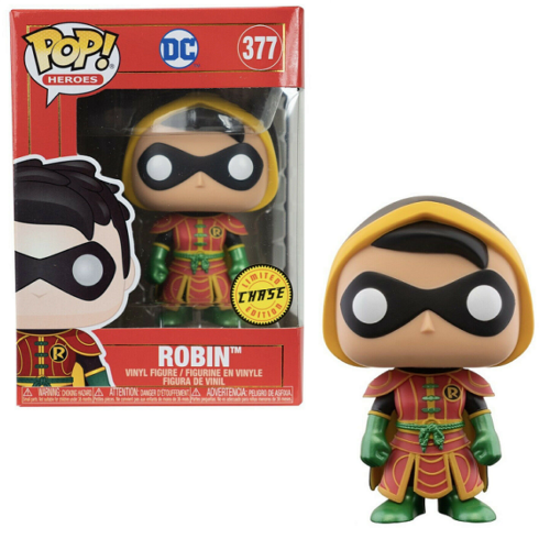 Funko Pop! Heroes: Imperial Palace - Robin (#377) Limited CHASE Edition