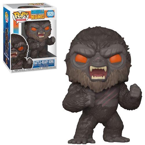 Funko Pop! Movies: Godzilla vs Kong - Battle Ready Kong (#1020)