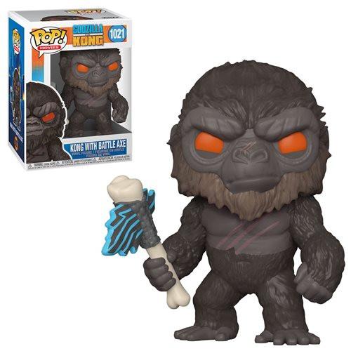 Funko Pop! Movies: Godzilla vs Kong - Kong with Battle-Axe (#1021)