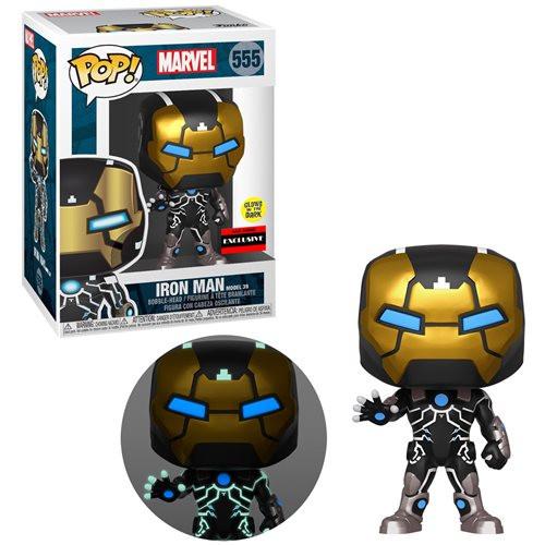 Funko Pop! Marvel: Iron Man Model 39 [GITD] (#674) AAA Anime Exclusive